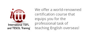 Teach Abroad with International TEFL and TESOL Training