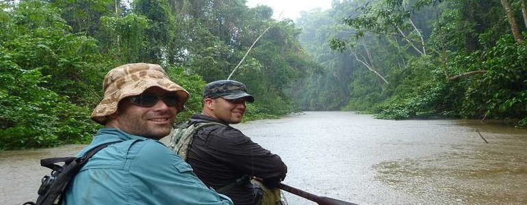 boating in amazon