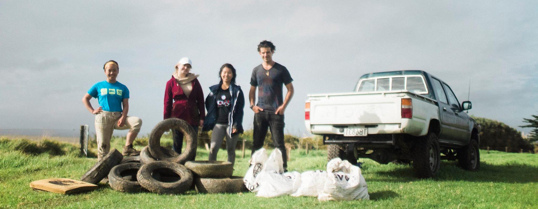 Volunteer in New Zealand