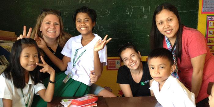 Volunteer in Philippines