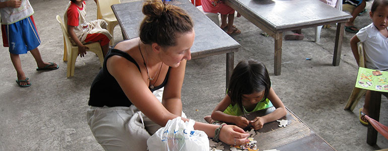 Volunteer abroad in Philippines