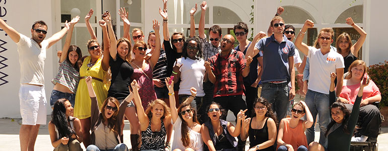 Students of Marbella Design Academy - SPAIN