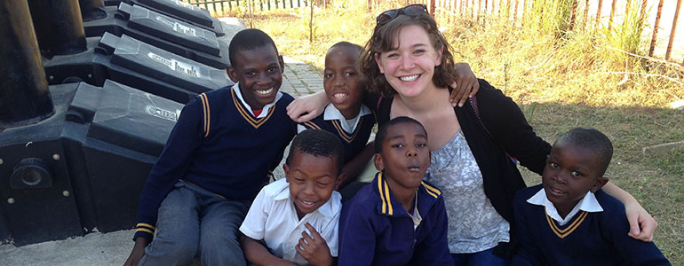 Volunteer abroad in south africa
