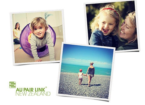 A collage images of Au Pair Link