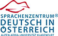 Learn German in Austria, University of Klagenfurt Logo