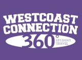 Westcoast Connection / 360° Student Travel Logo
