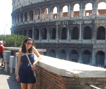 My First Day in Rome at the Colosseum