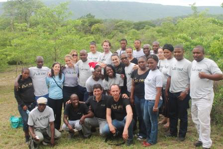 All Out Africa staff