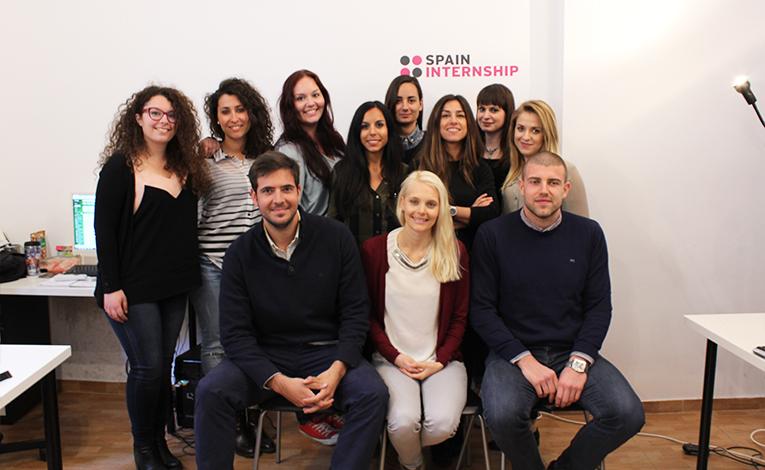 Spain Internship team