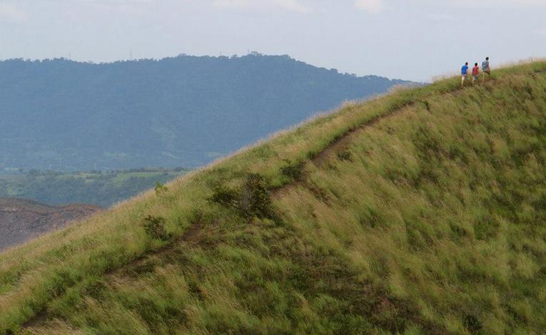 Hikers in Nicaragua