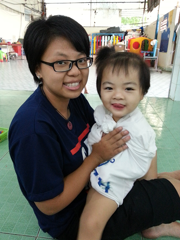 Volunteer at an orphanage in Vietnam