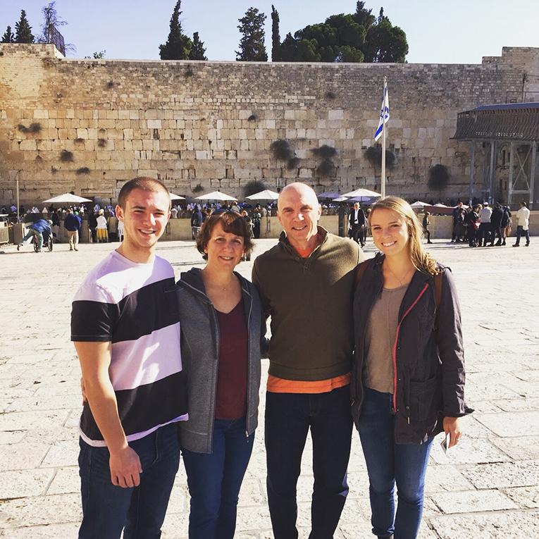 The Western Wall of Jerusalem