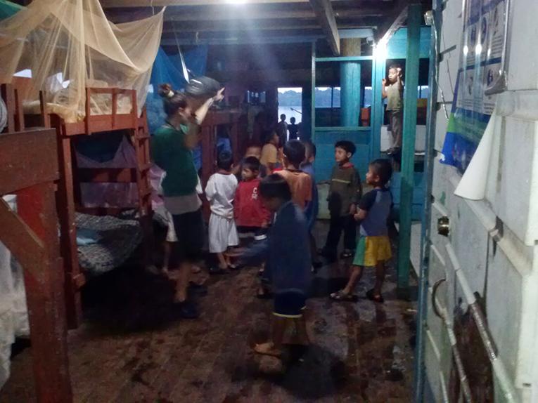 Boys at the Casa Guatemala Mayan Childrens Village