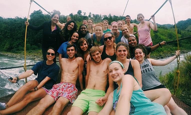 Rafting down Rio Savegre in Costa Rica