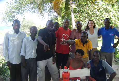 Naturally Africa Volunteers team in Malawi