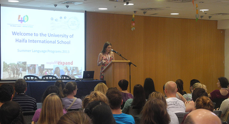 University of Haifa International School Orientation