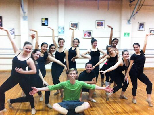 Dancers at Ballet Magnificat in Costa Rica