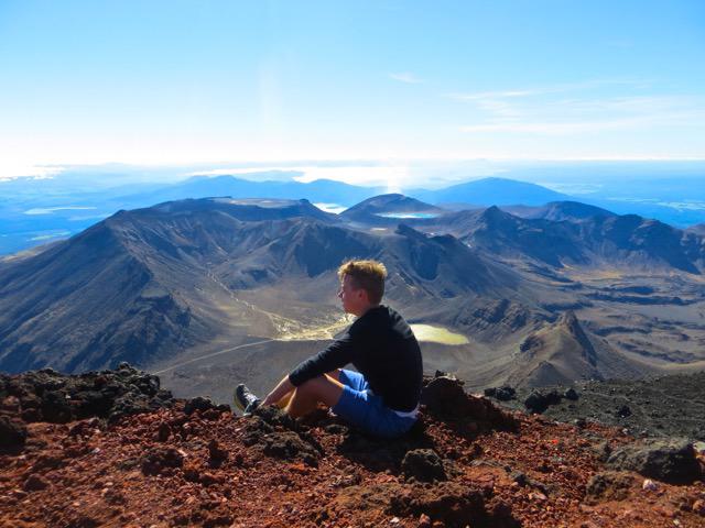 Hiking in North Island, New Zealand