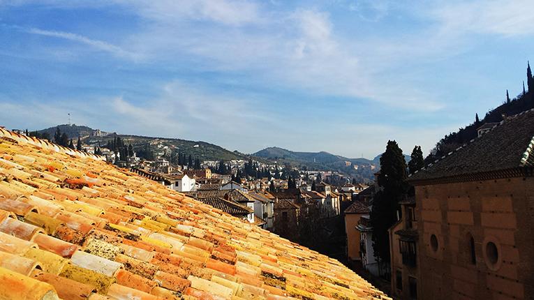 A view of Granada, Spain