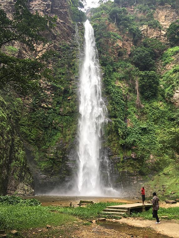 Ghanas Wli Falls