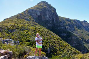 Hiking in Silvermine Nature Reserve, South Africa