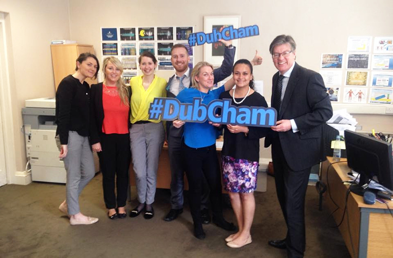 Dublin Chamber of Commerce staff and interns