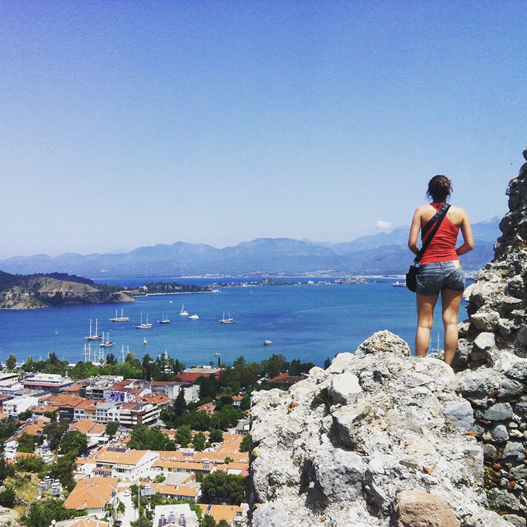 View of the Coast in Fethiye, Turkey