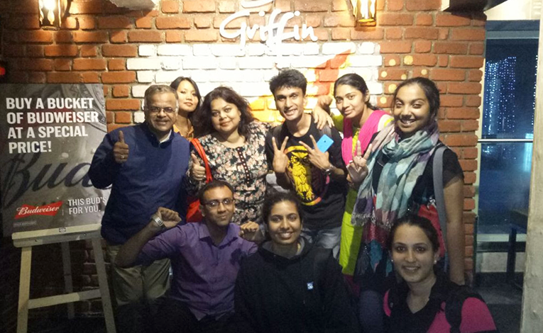 TEFL students in India