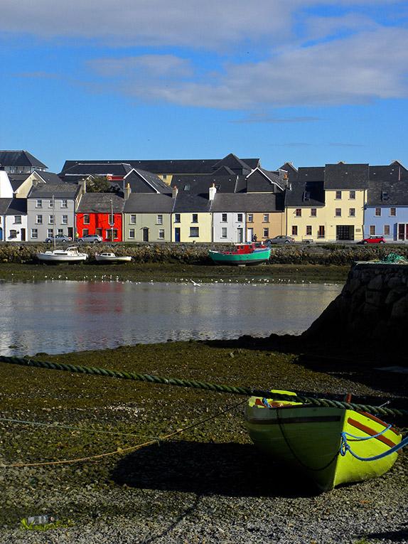 Galway Hooker boat in Ireland