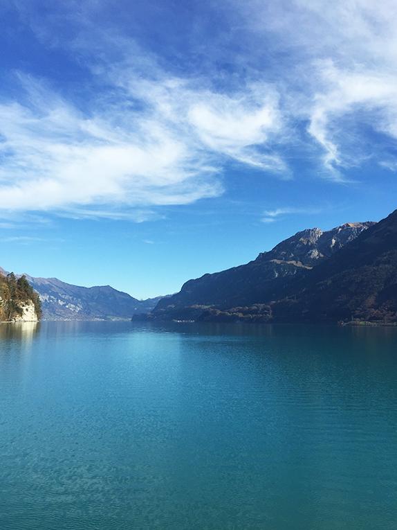 Lake in Interlaken, Switzerland