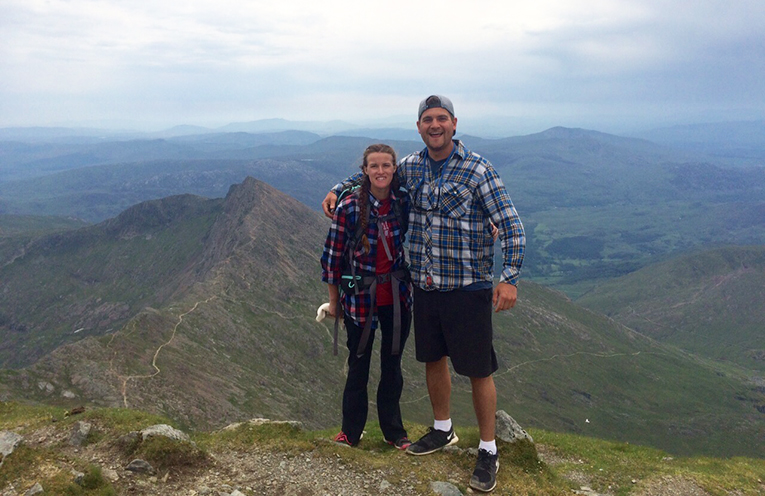 Hiking in Snowdonia National Park, Wales