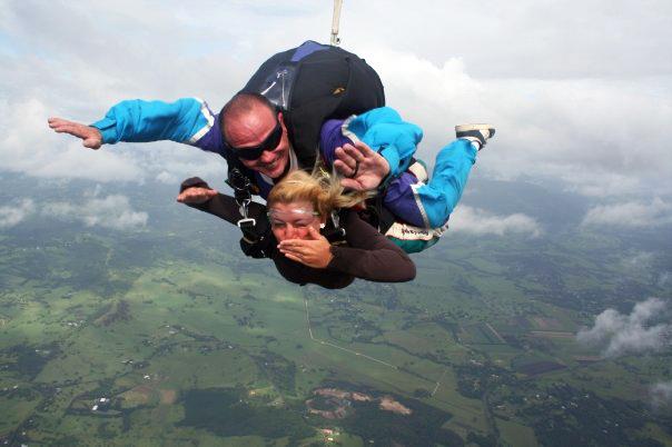 Skydiving in Byron Bay, Australia