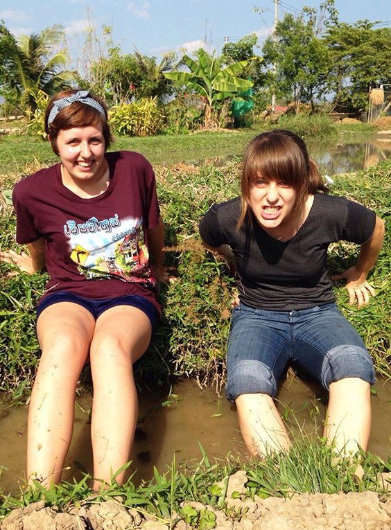 Agriculture volunteers in Chiang Mai, Thailand