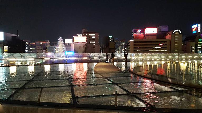 Oasis 21 in Nagoya, Japan