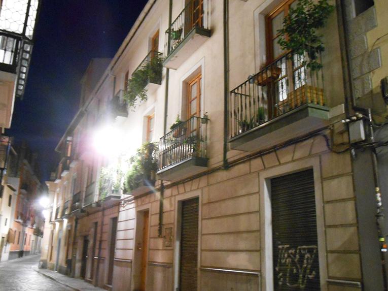 Granada, Spain at night
