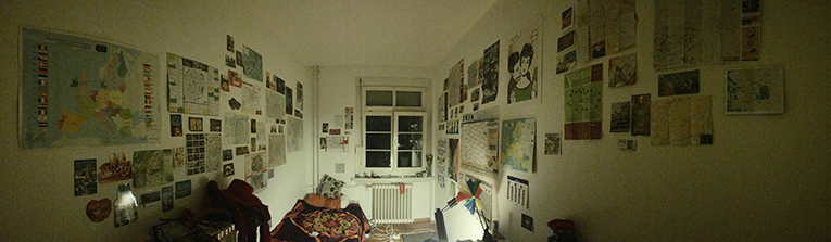 Student dorm room in Freiburg, Germany