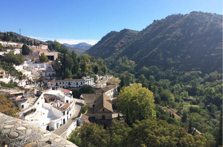 Hiking around Granada, Spain