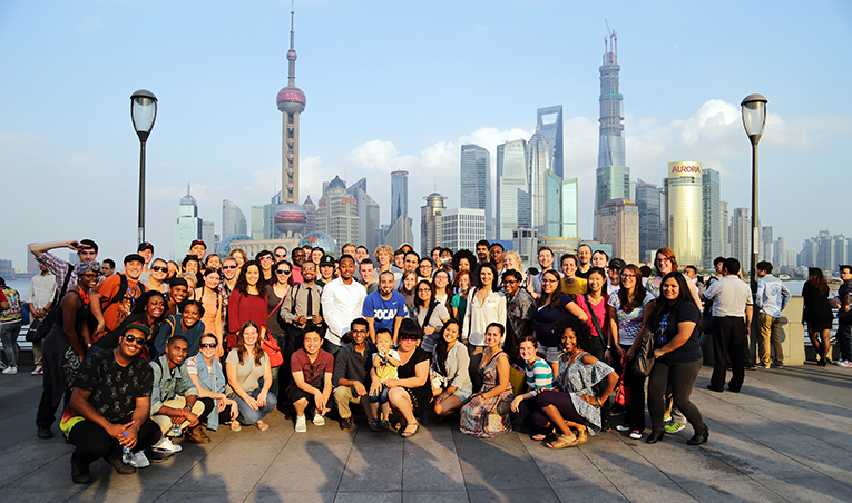 Ameson Education and Cultural Exchange Foundation 2013-2014 AYC Educational Ambassadors in Shanghai, China