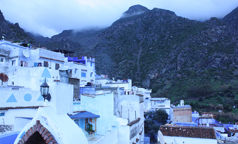The Blue City, Chefchaouen, in Morocco