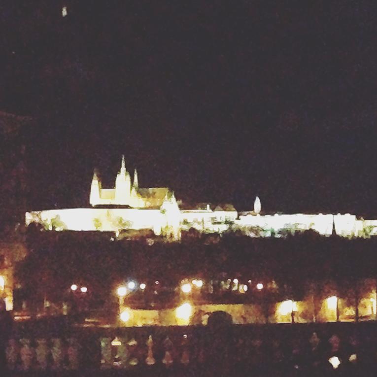 A view of Prague Castle