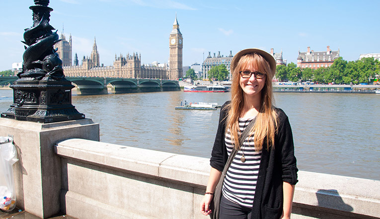Tourist site in London, England