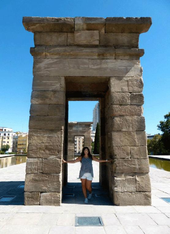 Templo de Debod in Spain