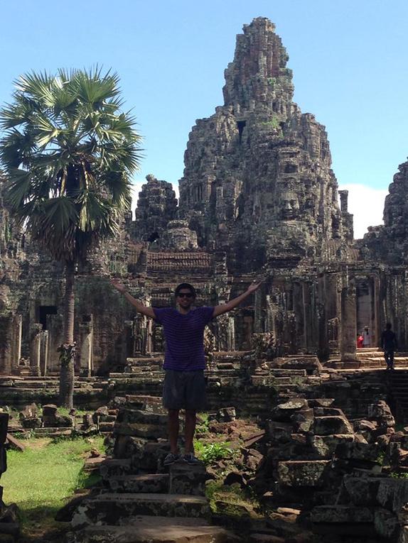 Exploring Angkor Wat in Siem Reap, Cambodia