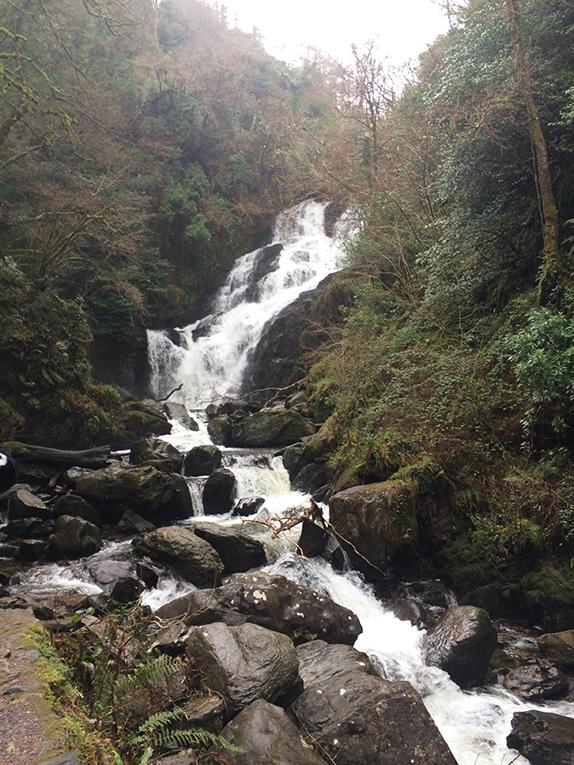Torc Waterfall near Kerry, Ireland