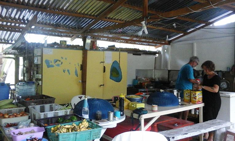 Basic kitchen in Malaysia
