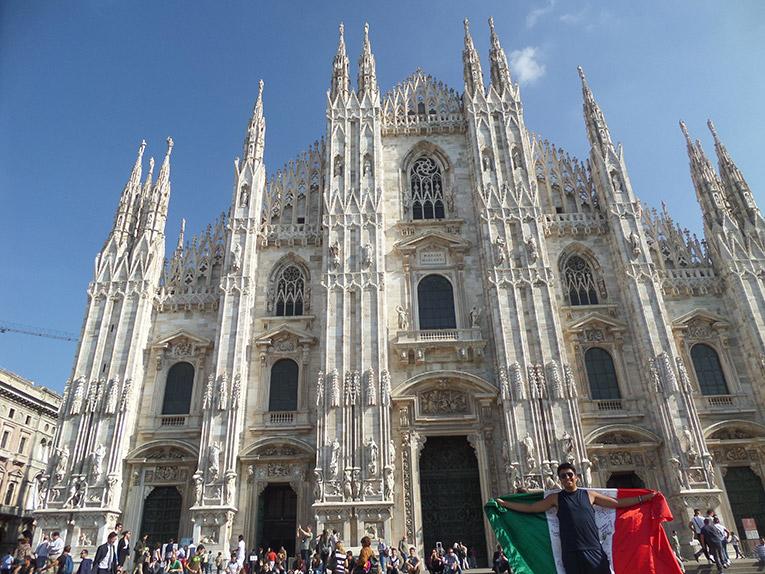 Church in Milan, Italy