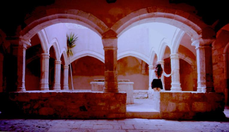 Monastery on the way to Tarragona, Spain