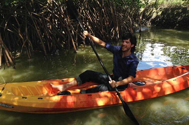 Kayaking in Nakhon Si Thammarat, Thailand