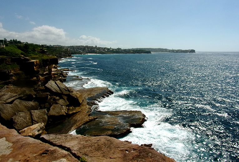 Coastline in Sydney, Australia