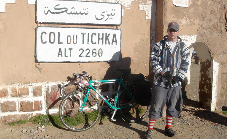 Exploring the Atlas Mountains in Morocco by bike